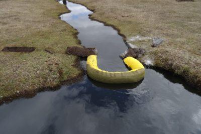 Onemi confirmó derrame de 720.000 litros de petróleo en Tierra del Fuego