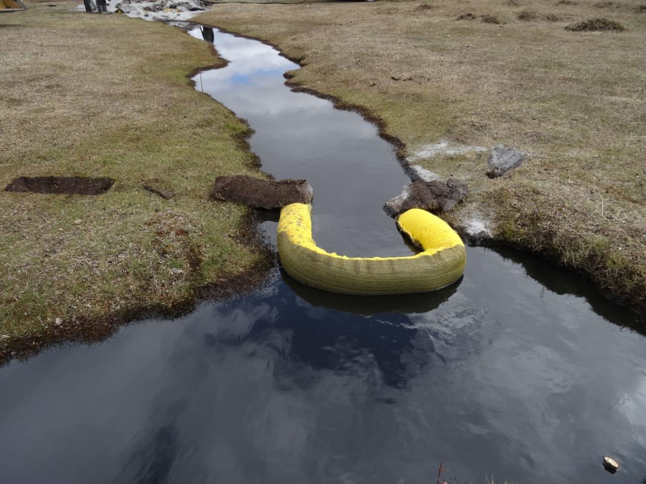 Onemi confirmó derrame de petróleo en Tierra del Fuego