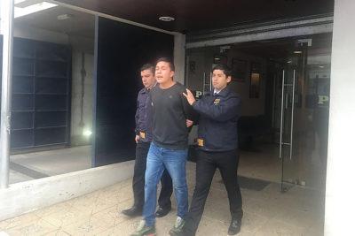 Hijo de líder de la CAM queda en libertad tras ser detenido por un bidón de bencina