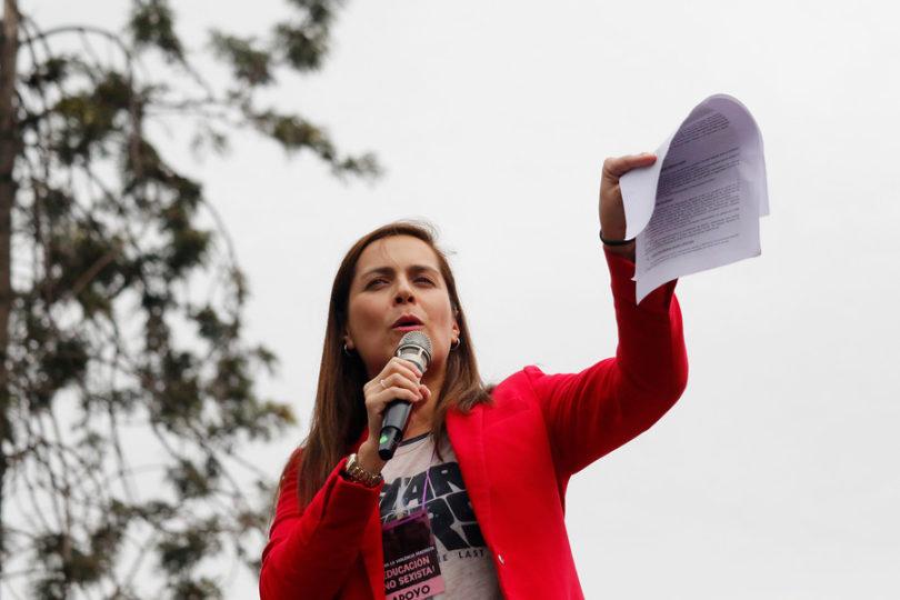 """Por qué Natalia Valdebenito rechazó ser """"la voz oficial"""" del segundo gobierno de Michelle Bachelet"""