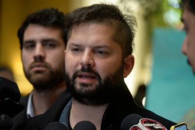 Gabriel Boric fue dado de alta tras internarse en Hospital Psiquiátrico U. de Chile para tratar su TOC
