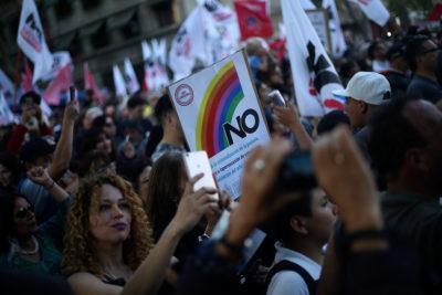 FOTOS   Más de 30 mil personas celebraron los 30 años del triunfo del NO