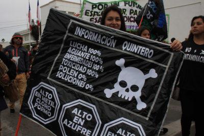 Peritos de la PDI resultaron intoxicados tras visitar planta de ENAP en Quintero