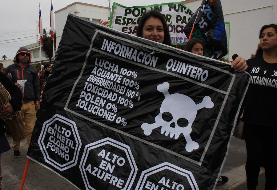 """""""Peritos de la PDI resultaron intoxicados tras visitar planta de ENAP en Quintero"""""""