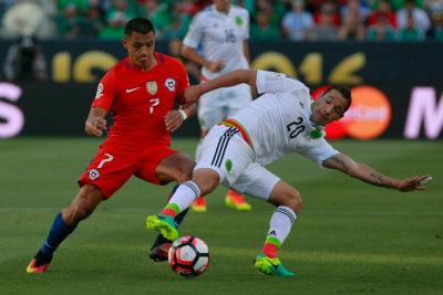 Formaciones: Chile sale con Alexis Sánchez de titular al duelo con México