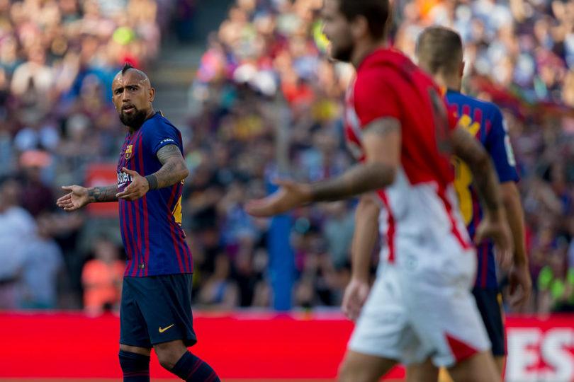 """Barcelona: """"Vidal le faltó el respeto a sus compañeros"""""""