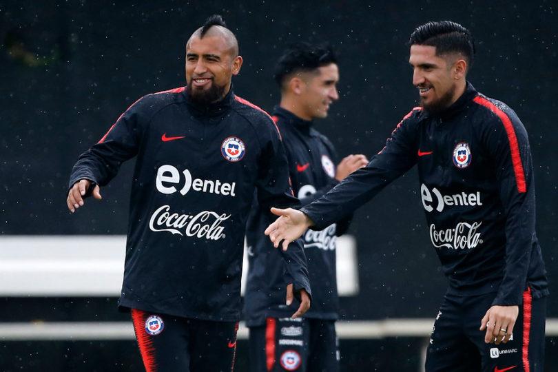 La arenga de Arturo Vidal a horas del partido con Perú