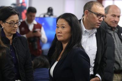 Justicia de Perú decretó prisión preventiva de Keiko Fujimori por 36 meses