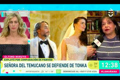 """Esposa de Tito Fernández se defiende por encontrón con Tonka en Bienvenidos: """"Quise buscar un poco de empatía"""""""