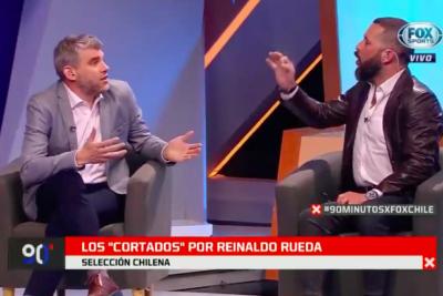 """VIDEO   """"Imposible hablar con una guagua"""": De Tezanos y Goldberg protagonizan pelea televisiva de la semana por la Roja"""