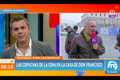 Revelan que animadores de la TV chilena comparten videos sexuales de la farándula durante cena en casa de Don Francisco