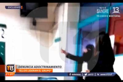 """Centro de Alumnas del Liceo 1 responde con dureza reportaje de Canal 13 sobre """"adoctrinamiento"""""""