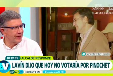Por qué Joaquín Lavín no volvería a apoyar a Augusto Pinochet en el Plebiscito del 88
