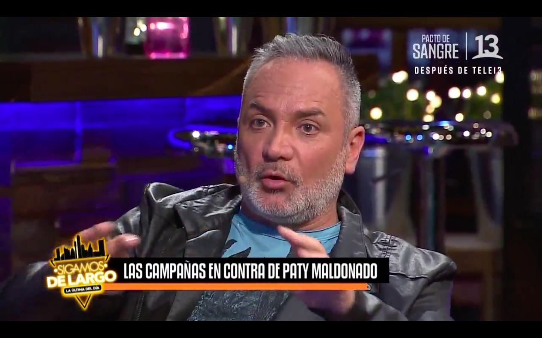 VIDEO | Luis Jara fue a los estudios de Canal 13 a defender a Maldonado y da luces de por qué Mega no la saca tras nueva funa