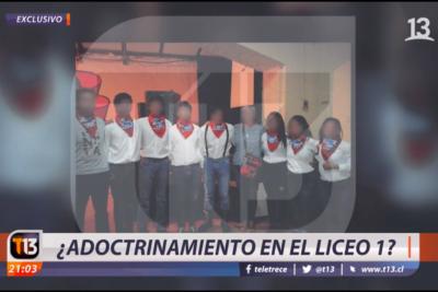 Cortinas metálicas abajo: los tensos días en Canal 13 y la trastienda del cuestionado reportaje sobre el Liceo 1