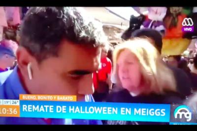 VIDEO | Ya es moda: Mucho Gusto vuelve a ser víctima de transeúnte que exigió la salida de Paty Maldonado