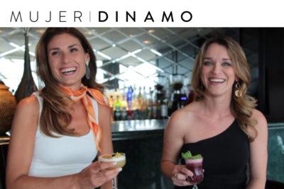 En la barra con Carolina Escobar y Carla Zunino