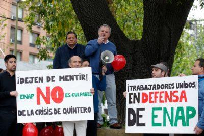 ENAP afirma que manifestaciones de sus trabajadores no afectan operaciones