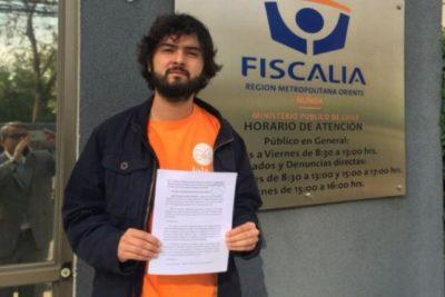 Candidato del Movimiento Gremialista FEUC pidió a la Fiscalía investigar denuncia de abuso en su contra