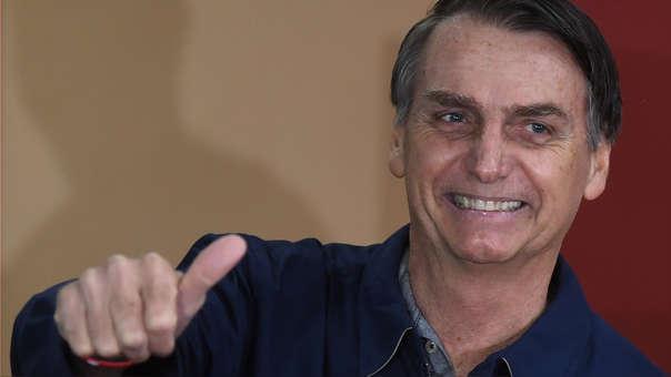 Jair Bolsonaro saca ventaja de 16 puntos a Fernando Haddad de cara a segunda vuelta