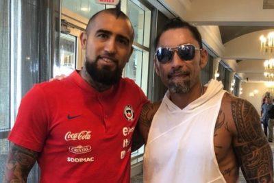 FOTOS | Marcelo Ríos visitó a la Selección Chilena en Miami