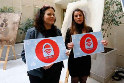 Diputadas presentan proyecto que castiga divulgar contenido sexual sin permiso