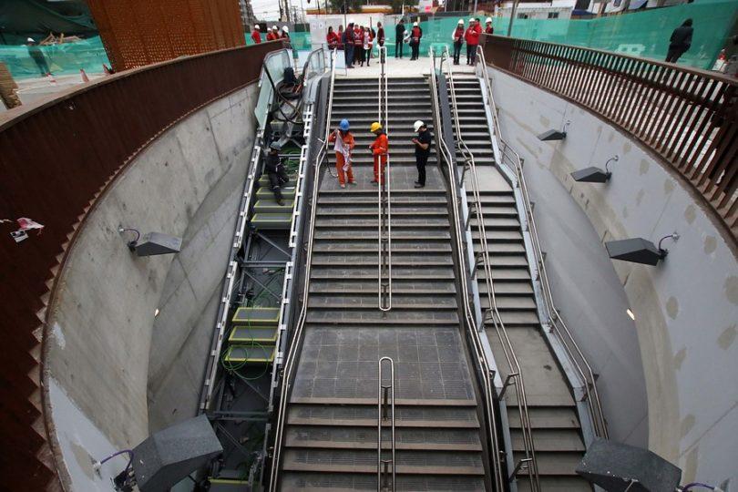 Línea 3 del Metro presenta un 96% de avance y será inaugurada en enero de 2019