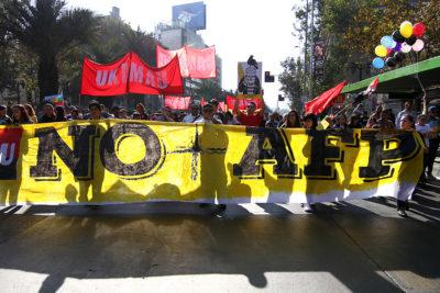 Coordinadora No+AFP convoca a movilización nacional para este miércoles