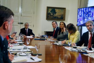 """El Fallo de La Haya desde Palacio: """"tranquilidad"""" y """"unidad"""" en La Moneda"""