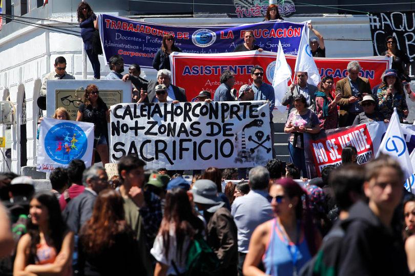 Emplazan al Gobierno a comprometer pacto social con Quintero y Puchuncaví