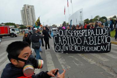 Cómo funcionará el plan de participación ciudadana para descontaminar bahía de Quintero