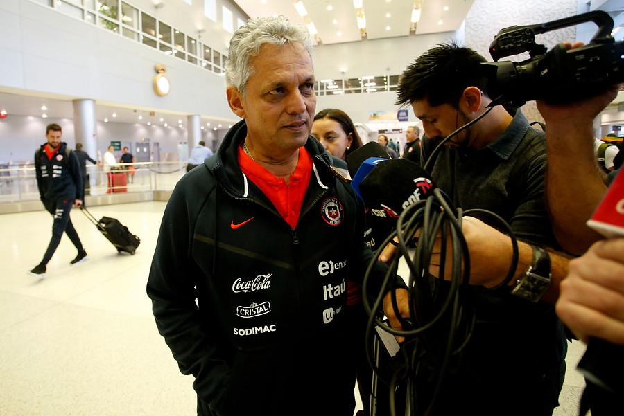 Problemas en la Roja: así respondió Rueda cuando le preguntaron por la indisciplina de Eduardo Vargas