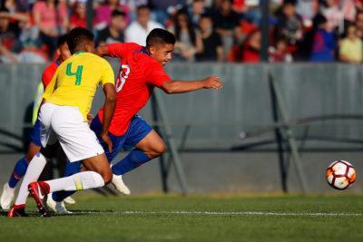 La Roja sub 20 sumó un nuevo empate ante Brasil en amistoso