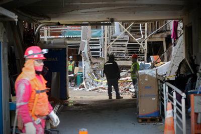 Sanatorio Alemán realizó sin permiso obra que habría generado explosión
