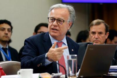 """Santelices por Quintero: """"Estamos en el camino correcto para la solución"""""""