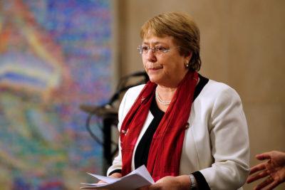 De Boric a Bellolio: once diputados solicitan a Michelle Bachelet visitar Palestina