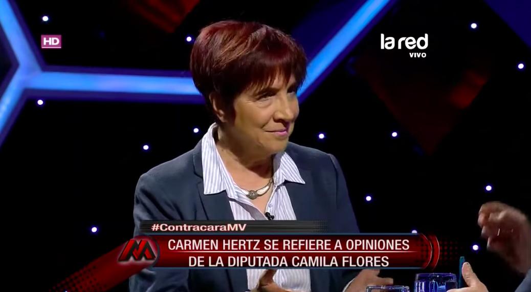 VIDEO | Así reaccionó Hertz ante las declaraciones de Flores