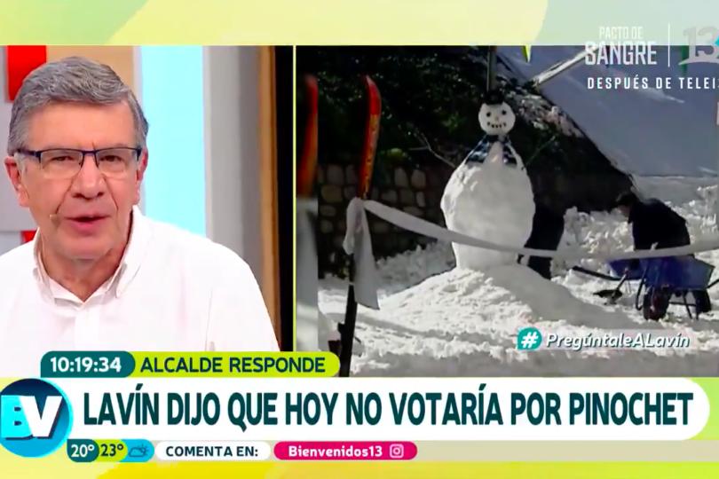 VIDEO   La reacción de Polo Ramírez cuando Joaquín Lavín aseguró que jamás volvería a votar por el Sí y Pinochet
