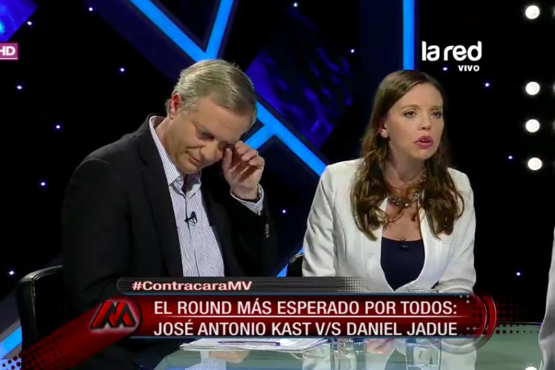"""VIDEO   La cara del alcalde Jadue cuando la diputada Flores le dijo que """"la Brigada Ramona Parra mataba gente en la UP"""""""
