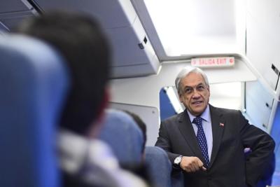 Presidente Piñera inició gira de diez días por Europa