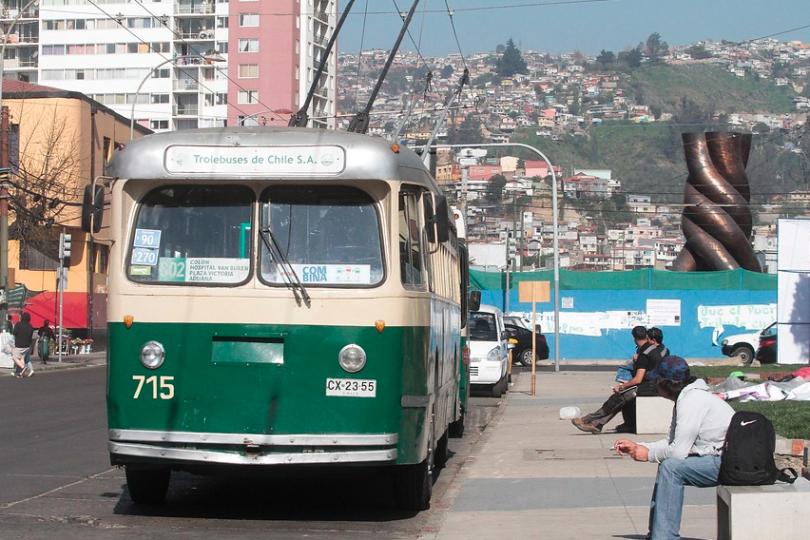 Anuncian fin de los trolebuses de Valparaíso
