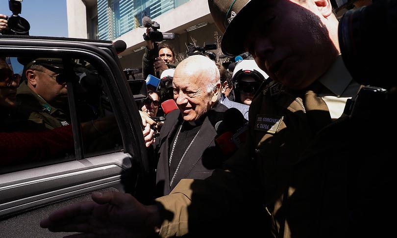 """""""El delincuente cardenal"""": Juan Carlos Cruz no compra apoyo de Ezzati a expulsión de Cox y Órdenes"""