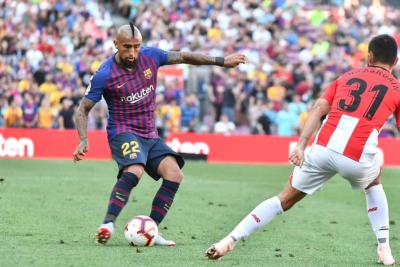 """Xavi Hernández: """"Me sorprende que un jugador con la experiencia Vidal tenga esa actitud"""""""