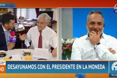 """VIDEO   Piñera: """"Cecilia está harto buena. El día que le diga que está bonita y se enoje por acoso sexual, me voy de Chile"""""""
