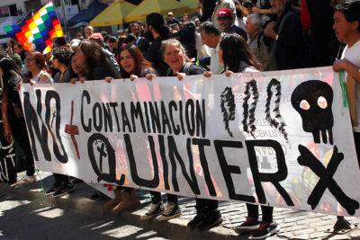 """Gobierno imprime """"trámite exprés"""" al nuevo plan de descontaminación de Quintero"""