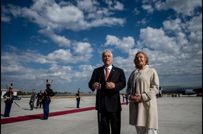 Cuánto costará la gira europea de diez días del Presidente Piñera y 12 parlamentarios