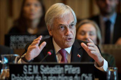 Presidente Piñera expuso sobre cerrar brechas en educación en UNESCO