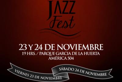 San Bernardo Jazz Fest, 23 y 24 de noviembre en Parque García de la Huerta