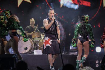Robbie Williams, un sobreviviente del pop