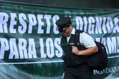 Gobierno realizará descuentos en salarios de gendarmes en paro nacional